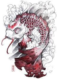 collection of 25 carp fish designs