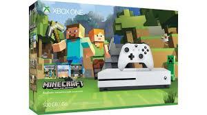 buy xbox one s 500gb console minecraft favorites bundle