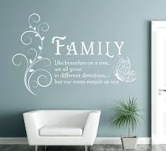 Posters For Living Room by Wall Ideas Aliexpresscom Buy Family Like Branches Quotes