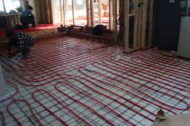 Heated Floor Under Laminate Electric Radiant Floor Heating Basics Cost Pros U0026 Cons