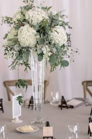 Long Vase Centerpieces by Best 25 Hydrangea Centerpieces Ideas Only On Pinterest Wedding