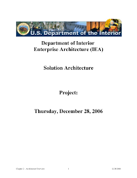 solution architecture document word format doc