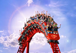 How Many Rides Does Six Flags Have Six Flags Announces Attractions For 2016 Journey Through Coasters