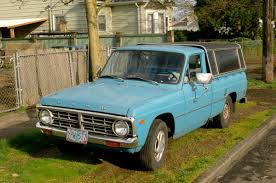 Ford Corier Old Parked Cars 1973 Ford Courier