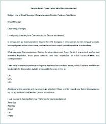Attached Is My Cover Letter And Resume Sample Of Email Cover Letter With Resume Attached Sample Email
