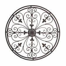 wrought iron wall decor designs
