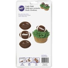 wilton halloween candy molds football candy mold wilton