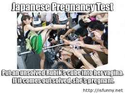 Funny Japanese Memes - japanese pregnancy test for woman isfunny net isfunny net