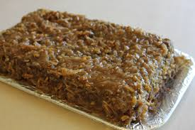 homemade german chocolate cake icing recipe best cake recipes