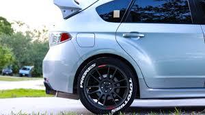 subaru wrx decal how to install treadwear tire stickers youtube