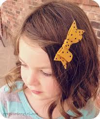polka dot hair polka dot felt hair bow clip tutorial