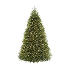 10 ft dunhill fir artificial tree with 1200 clear