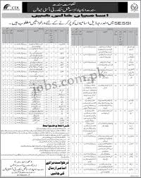 sindh employees social security institution sessi jobs 2017 for