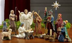 real 7 inch nativity set 14 pieces christianbook
