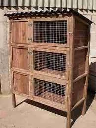 3 Storey Rabbit Hutch Rabbit Housing Kintaline Farm Benderloch