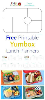 lunch box planner template template healthy lunchbox template free printable classic and lunch