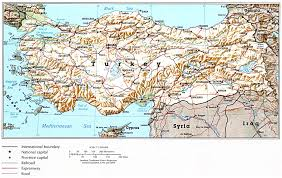 Definition Of Political Map Maps Of Turkey Detailed Map Of Turkey In English Tourist Map