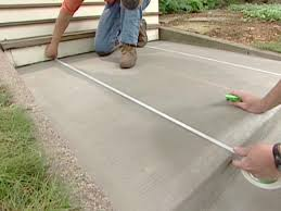 Covering Old Concrete Patio by How To Decorate Concrete With A Brick Pattern How Tos Diy