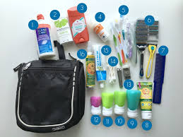 travel toiletries images How to pack a natural medicine and toiletry kit for family travel jpg