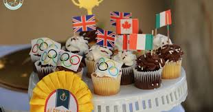 Olympic Games Decorations Olympic Party Olympic Games Decorations Tea Cups Sport Party
