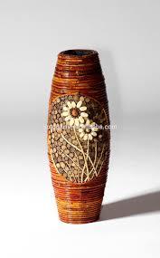 Home Decor Vases Gold Home Vase Flower Vase Flower Basket Rattan Vase Decoration