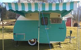 Camper Awnings For Sale Vintage Trailer Awnings National Serro Scotty Organization