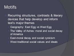 literature themes in the 1920s themes motifs symbols themes the decline of american dream in
