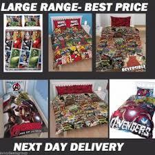 Avengers Duvet Cover Single Marvel Comics Avengers Duvet Doona Quit Cover Sets