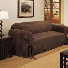 Leather Slipcover For Couch Leather Sofa Covers Home Design Ideas