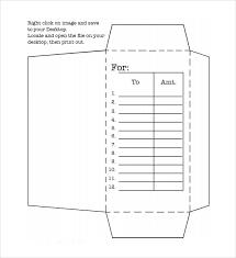 money envelope template 7 samples examples u0026 format