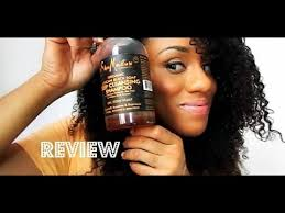 salicylic acid shoo for african american hair review shea moisture african black soap deep cleansing shoo