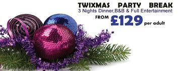 Christmas Party Nights Blackpool - twixmas 3 night party break 2017 carousel hotel blackpool