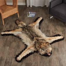 Real Fur Blankets Rugs Faux Bear Skin Rug Grey Faux Fur Rug Faux Animal Skin Rugs