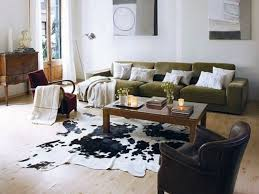 rug style cowhide rug in bedroom stunning cowhide rug faux white
