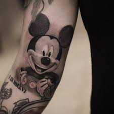 couple tattoo mickey mouse 65 classic mickey and minnie mouse tattoo ideas preserve the magic