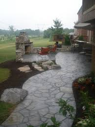 Patio Design Ideas For Your Beautiful Garden Hupehome by Best 25 Stone Patio Designs Ideas On Pinterest Patio Back Yard