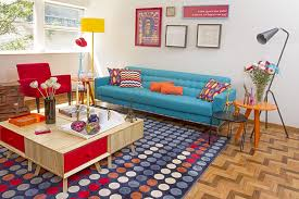 simple steps of creating a retro living room