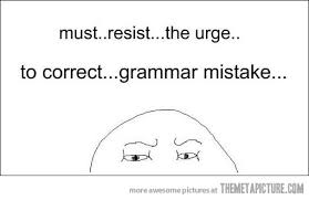 Funny Grammar Memes - a wild grammar mistake appears the meta picture