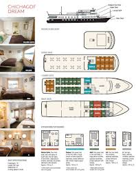 chichagof dream ship details alaskan dream cruises