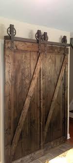 Barn Door Closet Hardware Bypass Vintage Spoked Sliding Barn Door Closet Hardware