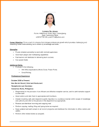 objective on resume exle of resume objective resume templates resume exles