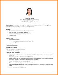 resume exles objective exle of resume objective resume templates resume exles