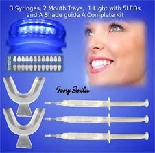 how to use teeth whitening kit with light teeth whitening kit for home use mint flavoured kit laser led light