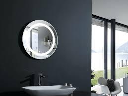 bathroom lighted vanity mirrors round lighted vanity mirror led