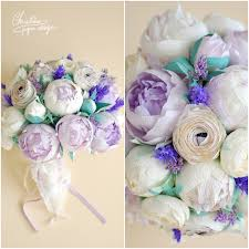 Wedding Flowers Peonies Paper Peonies Simple Colour Palette And A Stylish Alternative
