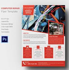 computer repair flyer template word computer repair flyer