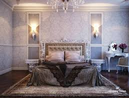 terrific bedroom decor feature silver stained wooden bed with grey