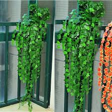 ivy home decor new 8 2 feet artificial ivy leaves flower vine home decor party