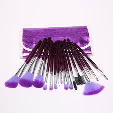 22pcs superior professional soft cosmetic makeup brush set pink