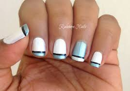 cool french tip nail designs image collections nail art designs